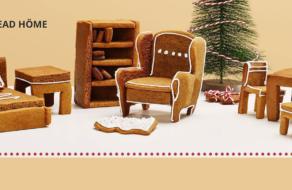 Ikea выпустила инструкции для создания пряничных версий своей мебели