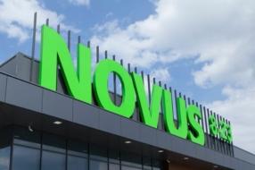 Visa и Монобанк запустили продажу платежных карт на кассах супермаркетов Novus