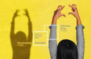 PANTONE представил два оттенка года как символ единства