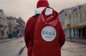 Модель «Жизнелюба» снялся в новогодней рекламной кампании SAGA Development