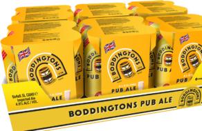 AB InBev обновила упаковку бренда Boddingtons на более дружественную к природе