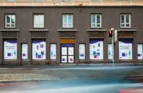 В Хельсинки пустые магазины превратили в outdoor для малого бизнеса