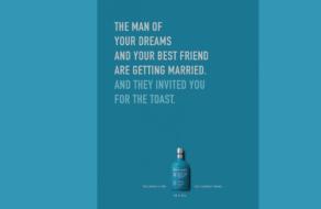 Принты для бренда виски назвали причину для крепкого напитка