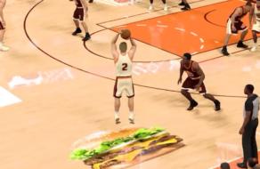 Burger King создал баскетбольную площадку, чтобы геймеры получили бесплатные бургеры