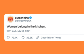 Burger King раскритиковали за неудачный твит «Женщинам место на кухне»