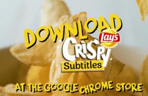 Расширение для Chrome включает субтитры на YouTubе в ответ на хруст от чипсов