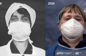Getty Images показали, как история повторяет себя