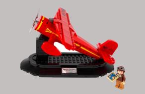 LEGO выпустил набор с Амелией Эрхарт в честь Международного женского дня
