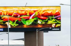 Subway запустил outdoor кампанию без лого и названия бренда