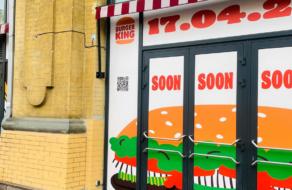 Вітрина Burger King в Києві виявилась афішею лекції СМО Фернандо Мачадо