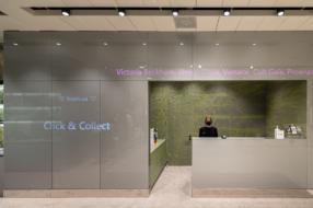 ЦУМ открыл новое пространство выдачи интернет-заказов