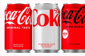 Coca-Cola представила обновленный минималистский дизайн