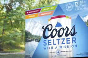 Coors Seltzer призвал отказаться от душа в День Земли