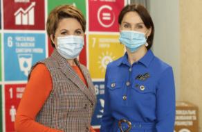 Елена Фроляк стала первым амбассадором ГД ООН в Украине