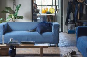IKEA переработала старые джинсы и создала чехлы для дивана