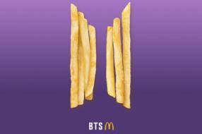 МакДональдз і гурт BTS представлять улюблене меню супергурту в ресторанах мережі
