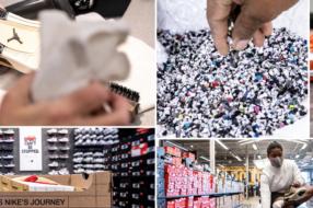 Nike дает вторую жизнь изношенным кроссовкам