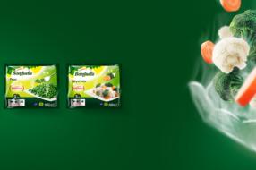 Bonduelle пропонує парові овочі нашвидкуруч