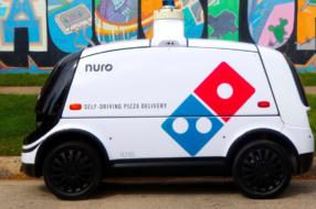 Domino's Pizza тестирует доставку с помощью самоуправляемых автомобилей-роботов