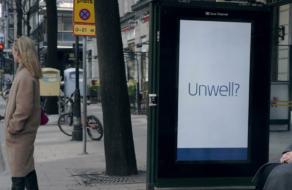 Креатив в Outdoor: билборд, реагирующий на признаки простуды