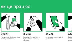 Zakaz.ua меняет чистую пластиковую тару на промокод