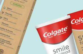 Colgate представила тубы для зубной пасты, пригодные для вторичной переработки
