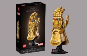 LEGO выпустил набор, посвященный Перчатке Таноса