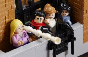 LEGO выпустили набор по мотивам сериала «Друзья»