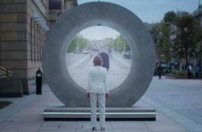 В Люблине и Вильнюсе появились футуристические порталы