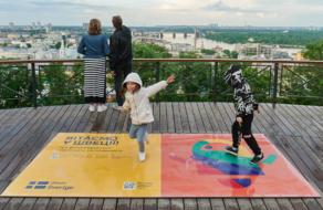 Посольство Швеції перетворило київські вулиці на AR-об'єкти