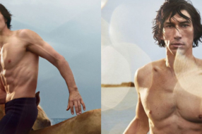Адам Драйвер превратился в кентавра в рекламе Burberry