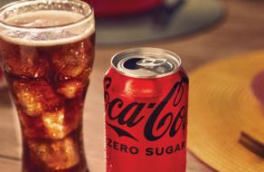 Coca-Cola изменила вкус и дизайн Coca-Cola Zero Sugar