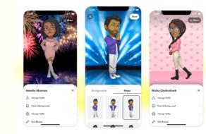 Профілі Snapchat отримали новий вид завдяки 3D Bitmoji