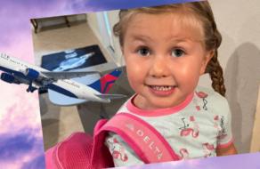 Delta Airlines отправила посылку маленькой девочке, встревоженной тем, что ее зовут Дельта