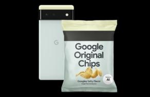 Google рекламирует смартфоны с помощью чипсов с дизайном Pixel 6
