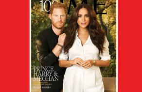 Принц Гарри и Меган Маркл украсили обложку Time