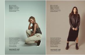 Фейковая fashion-реклама помогает женщинам выявлять признаки домашнего насилия