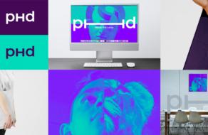 Медиасеть PHD обновила визуальную айдентику