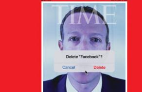«Удалить Facebook?» TIME поместил на обложку Марка Цукерберга