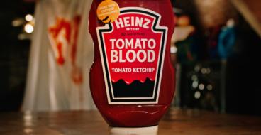 Heinz выпустил кровавый кетчуп на Хэллоуин