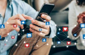 Количество пользователей социальных сетей в мире превысило 4,5 млрд